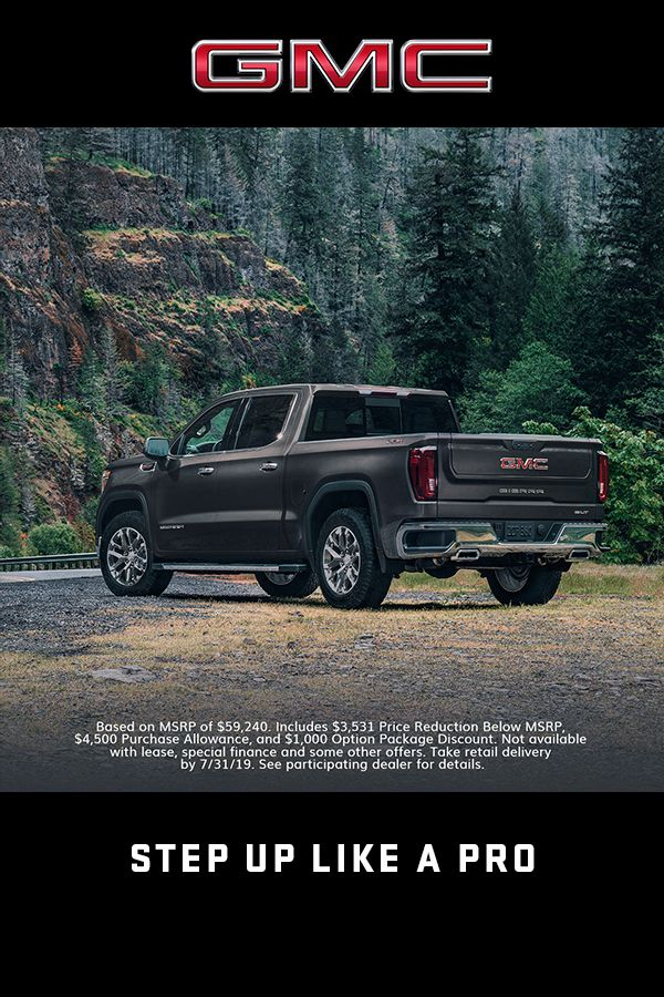 Explore These 2019 Gmc Sierra Offers Lease Deals Gmc Vehicles