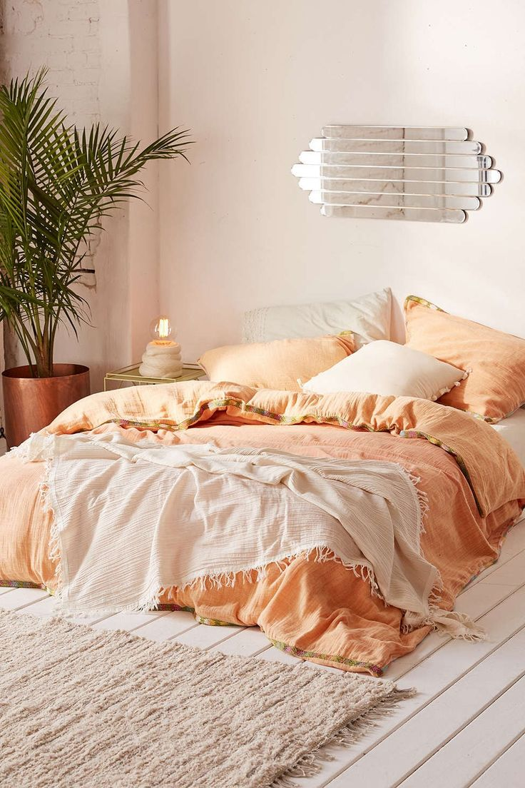 Iktan Trim Duvet Cover. Best 25  Peach bedroom ideas on Pinterest   Peach rug  Peach