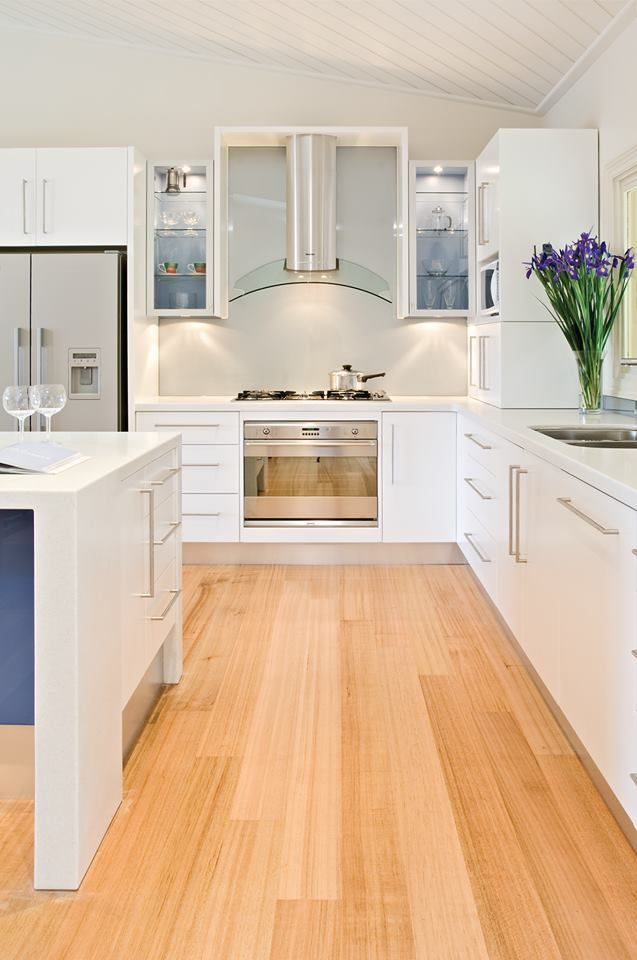You can never go wrong with crisp, clean WHITE. Visit our website for more inspiring design ideas www.albedor.com.au