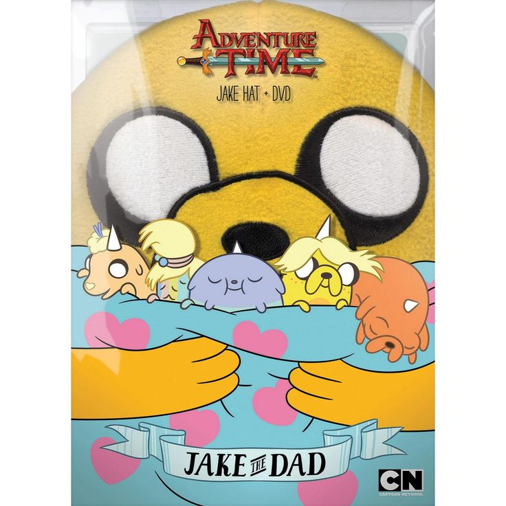 Adventure Time: Jake the Dad (dvd_video)