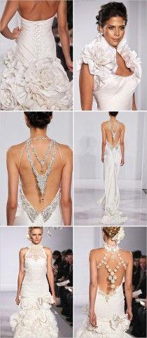 Pnina Tornai 2012 Bridal Collection ♥ Beautiful Wedding Dresses | Pnina Tornai Gelinlik Kolleksiyonu ♥ Iddali Gelinlik Modelleri