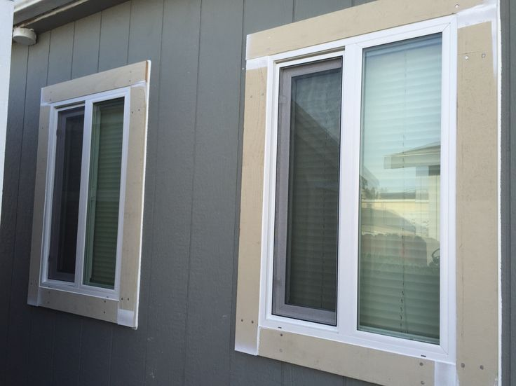how to properly install a new construction window