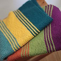 Simply Stripes Baby Blanket from The Brown Stitch