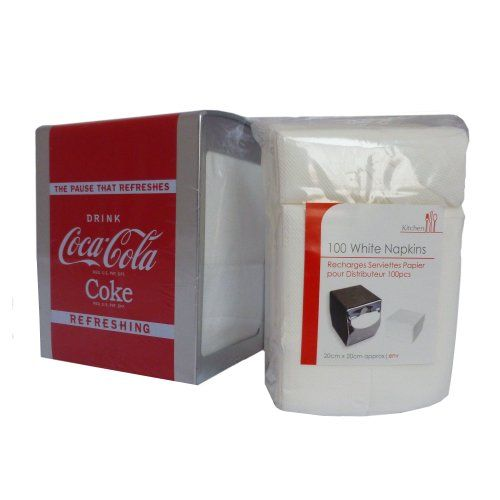 Coca Cola Serviette SERVIETTES Distributeur de serviettes (recharges fournies): Cet article Coca Cola Serviette SERVIETTES Distributeur de…