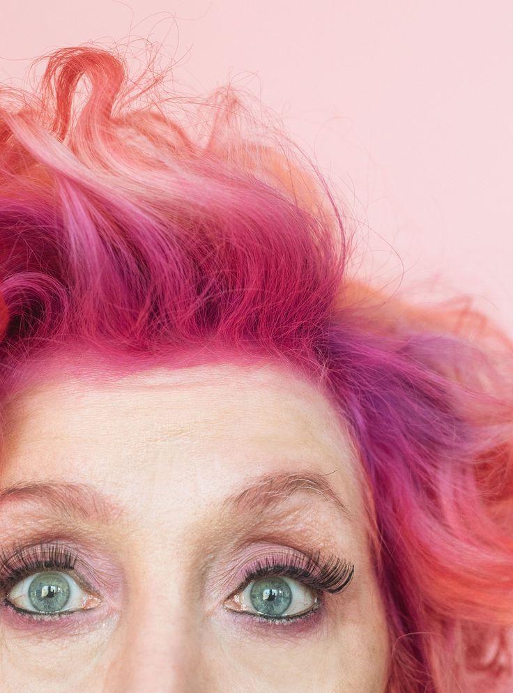3 Women Prove That Rainbow Hair Has No Age Limit #refinery29  http://www.refinery29.com/hair-dye-older-women