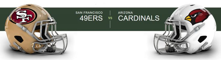 San Francisco 49ers at Arizona Cardinals University of Phoenix Stadium — Glendale, AZ on Sun Nov 13 at 2:25pm, From $62.00