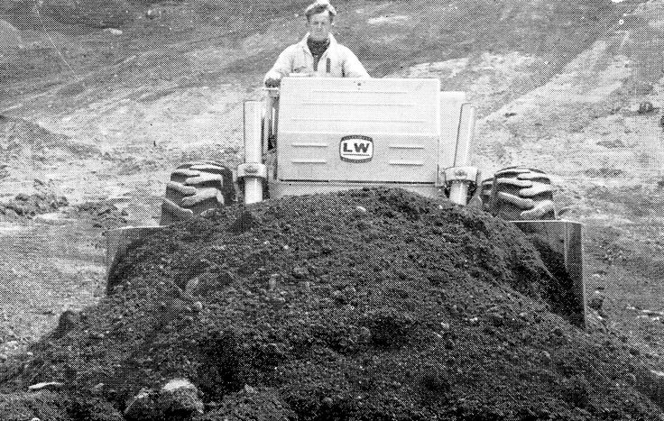 With a full blade load on, the LW12 was suited for most utility jobs, especially cleanup work where its speed made it a very versatile machine.