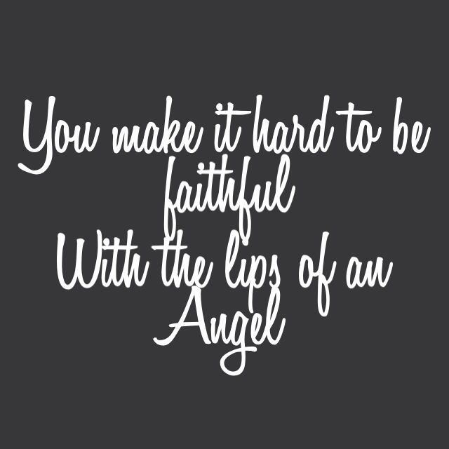Lips Of An Angel - Hinder. Made by amrubisch™