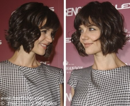 my hair is naturally wavy so if I got a bob it would maybe be something like this, unless I straightened it.