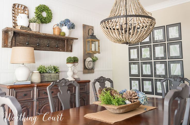 274 best images about dining room decor on pinterest for Farmhouse dining room wall art