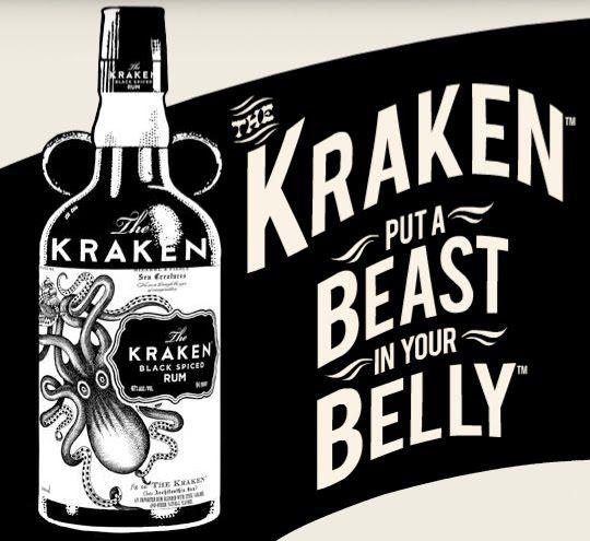 Put a beast in your belly, Kraken