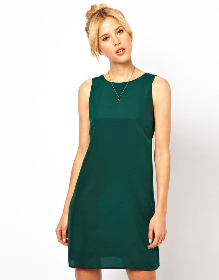 Simple green dress