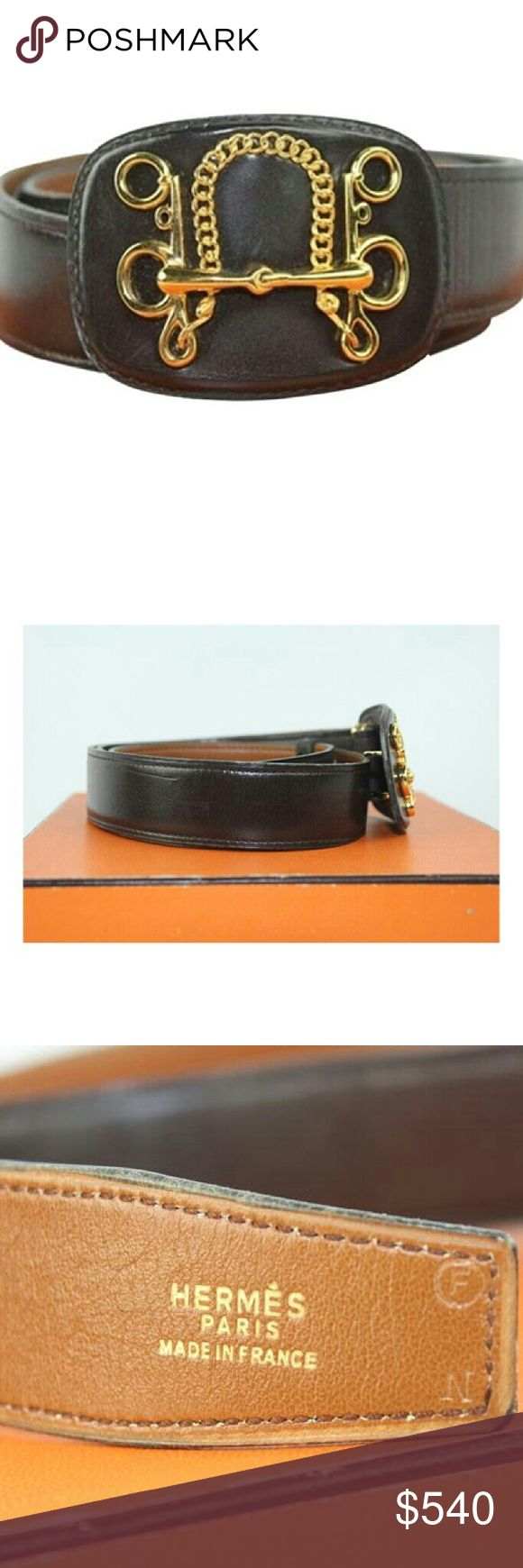 Hermes Belt Knot Lasso Discontinued HTL86 Hermes Belt Knot Lasso Discontinued NO BOX This item will ship immediately!! Previously owned. Made in: France Signs of Wear: Marks on exterior and interior. Scratches on buckle hardware. Scratches on exterior and interior. Scuff Marks on exterior. Creasing. Hermes Accessories Belts
