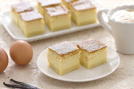 orni. Potete congelare la torta magica cotta nella teglia in cui l'avete cotta oppure tagliata a cubotti, che porrete in una teglia di allum...