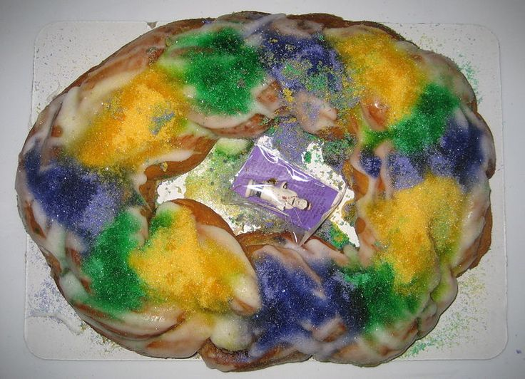 King Cake Recipe and Links to Top Bakeries to Buy One Online