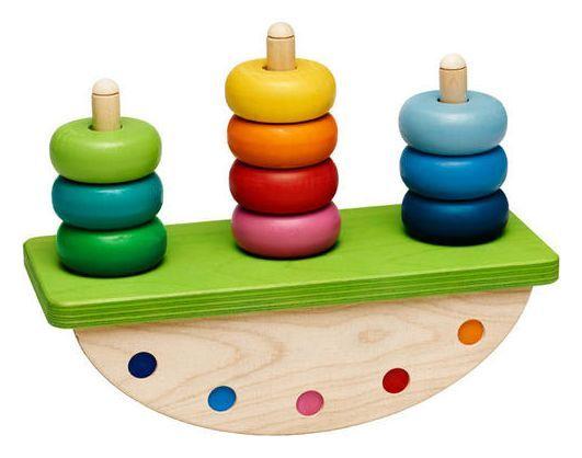 Selecta Kippeldiwipp Stapelwippe | D-Toy Spielzeug