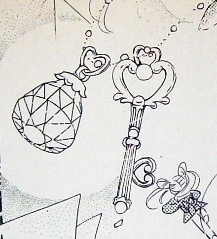 幻の銀水晶と時空の鍵:漫画『美少女戦士セーラームーン』  Silver Crystal and the Key of Space-Time - Sailor Moon manga