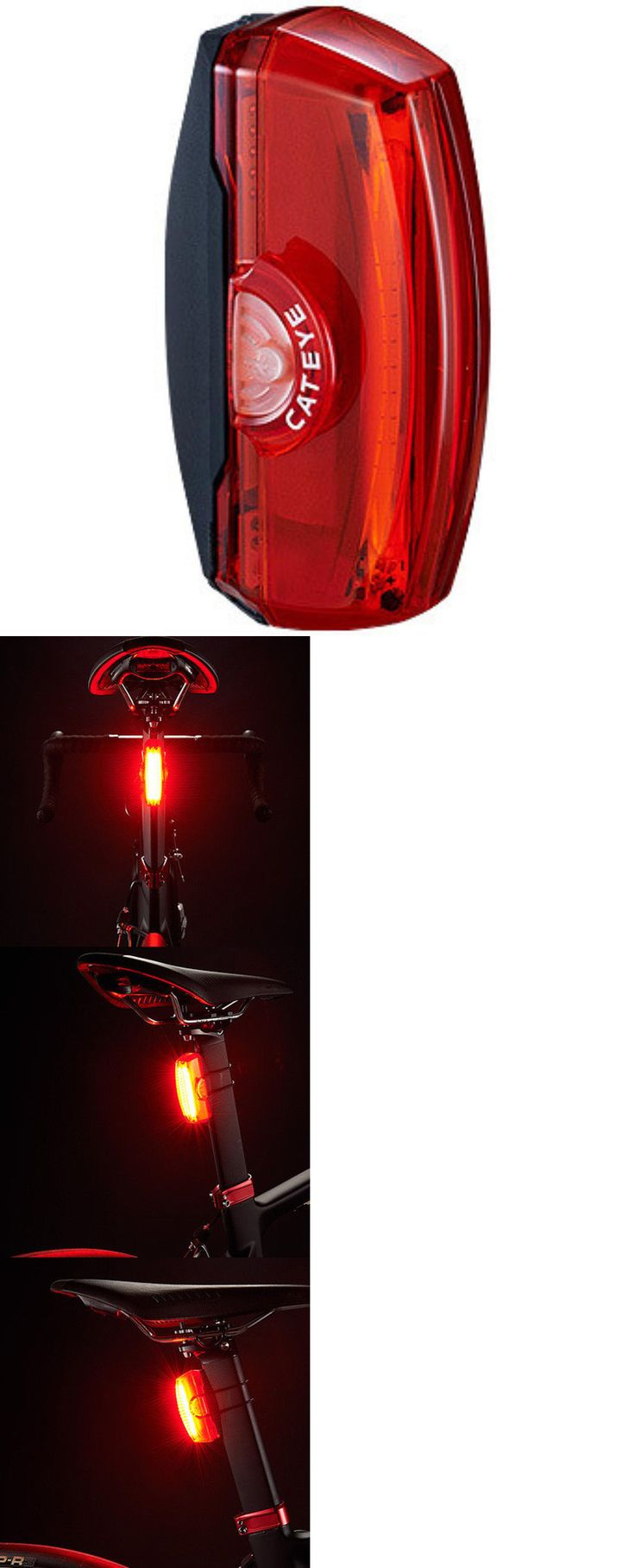 Lights and Reflectors 22689: Cateye Red Rapid X3 Bike Light 150 Lumens Rear Tl-Ld720-R Rechargeable Batteries -> BUY IT NOW ONLY: $60 on eBay!