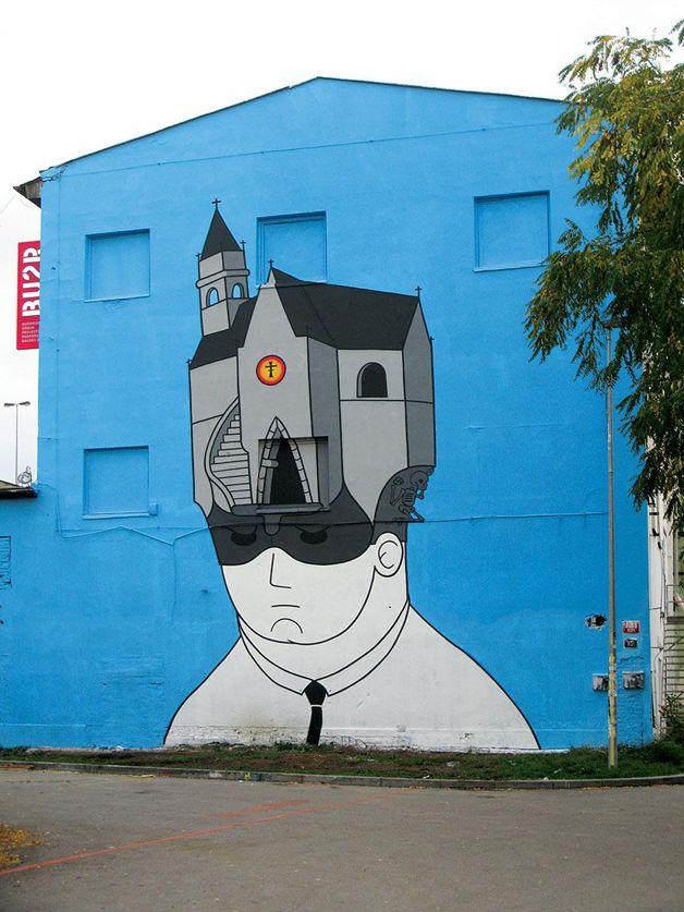Praga (República Tcheca) Street Art