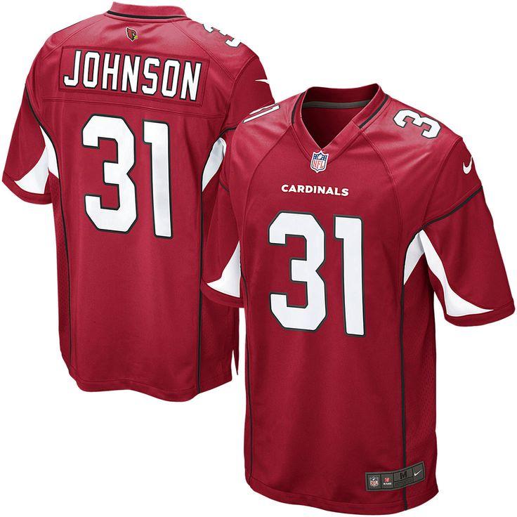 David Johnson Arizona Cardinals Nike Game Jersey - Cardinal - $99.99