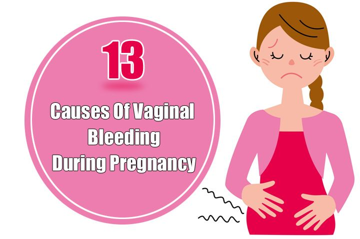 13 Causes Of #Vaginal #Bleeding During #Pregnancy
