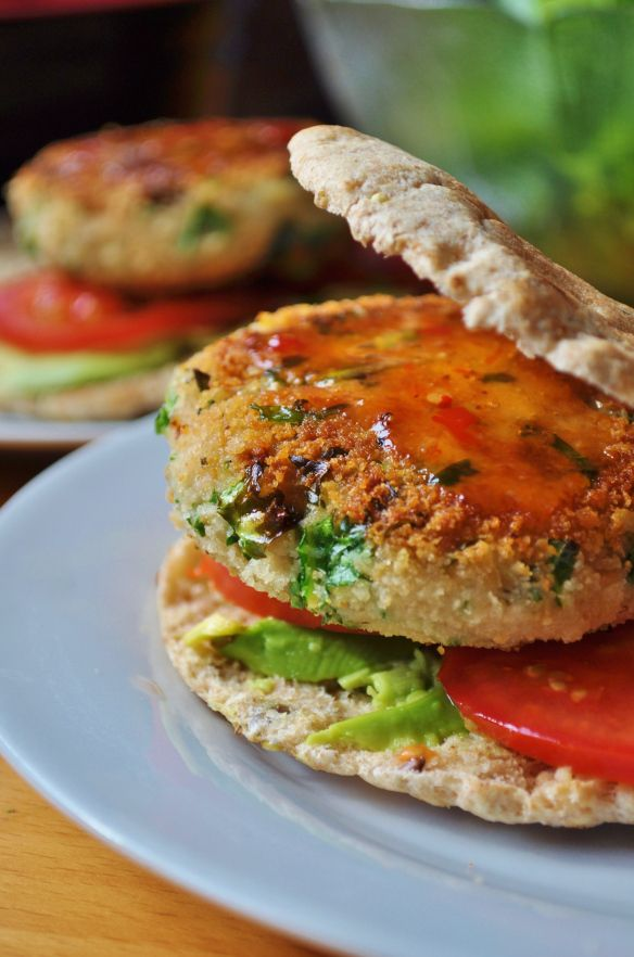 Vegan Burger Series: Episode Four - Butter Bean Kale Burger - Vegan MoFo