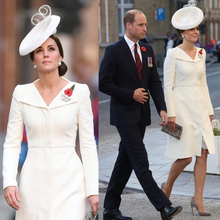 he Duke & Duchess attended a traditional Last Post ceremony at dusk at the Menin Gate, Ypres, along with Belgium's King Philippe & Queen Mathilde. The Prince of Wales, Sir Timothy Laurence, Prime Minister Theresa May and Defence Secretary Sir Michael Fallon are also attending events in and around Ypres to mark the centenary of one of the bloodiest and muddiest battles of the First World War — the battle of Passchendaele.