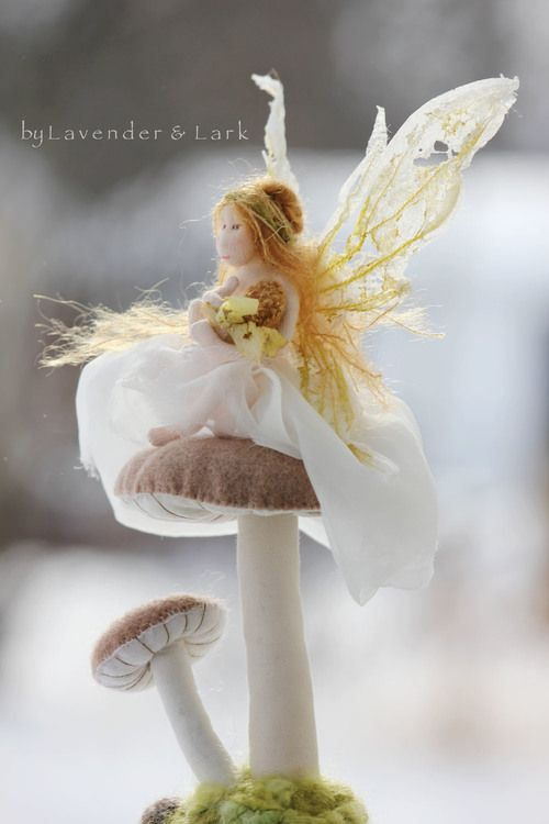Siofra by Lavender & Lark ~ fairy doll