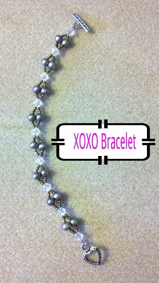 No tute but who needs one!  This would look great made up into a gorgeous necklace.