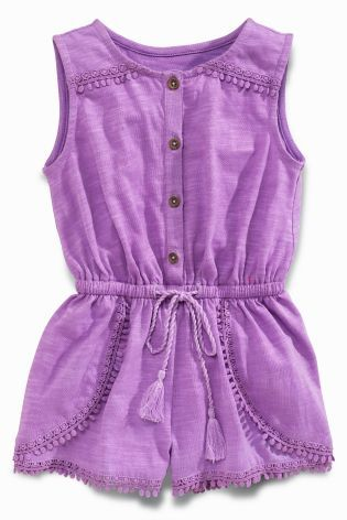 Buy Purple Playsuit (3mths-6yrs) online today at Next: United States of America