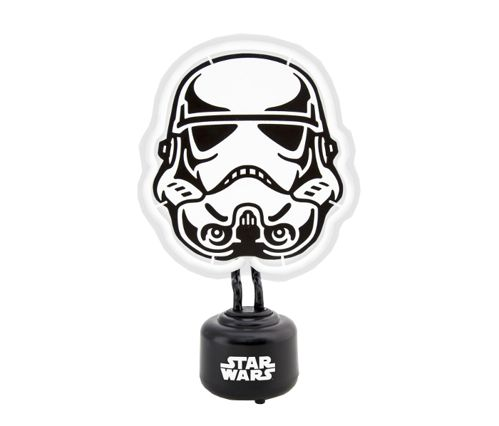 Lampa stołowa Stormtrooper Neon  Star Wars