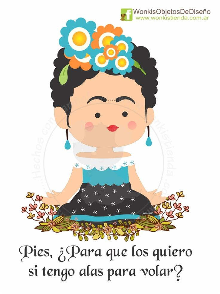 Frida Kahlo Illustration                                                                                           Más