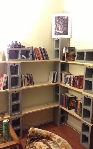 Exceptional How To Build A Bookshelf U2013 Snapguide Cinder Block Shelves | Style And  Design For A