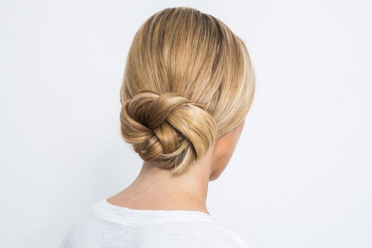 Edgy and sexy updo