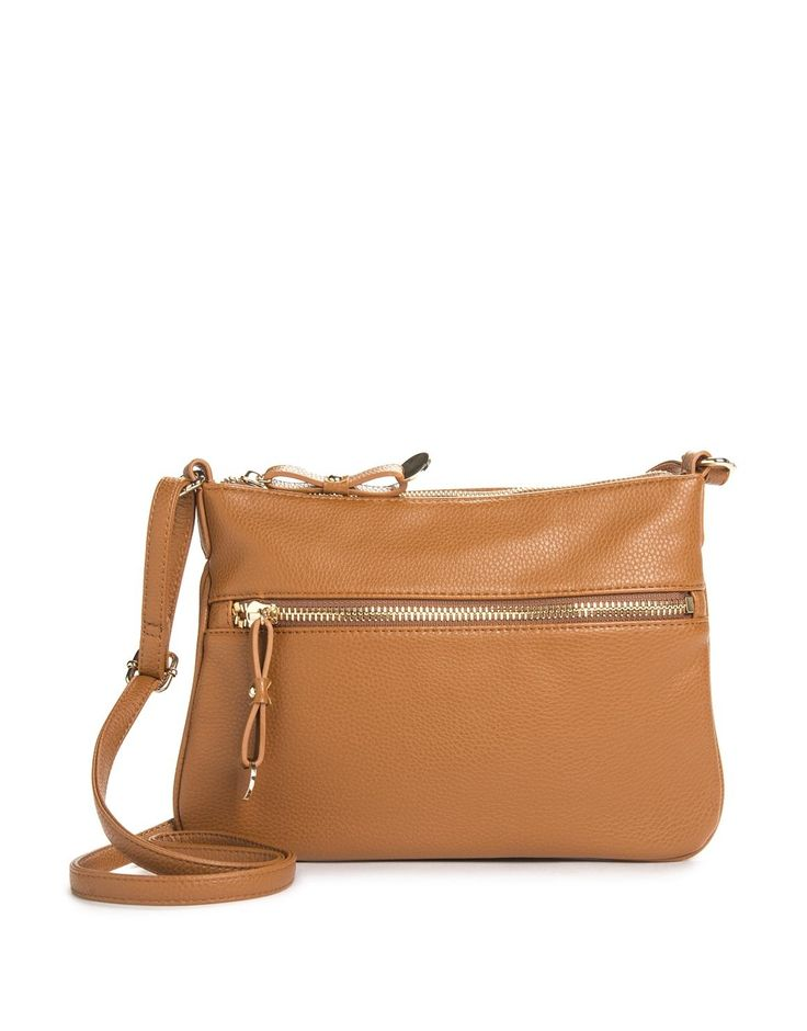 Zip Pocket Crossbody Bag