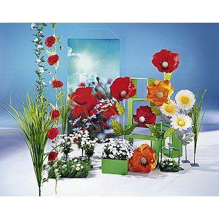 Dekoidee Mohnblumen Die Mohnblume, oder auch Klatschmohn genannt, gilt in manchen Kulturen als Symbol der Liebe. Bei uns findet er den Weg in die frühlingshafte, in Rot gehaltene Dekoration. Gänseblümchen passen sich dabei mit ihrem dezenten weißen Blüten-Kopf der knalligen Farbe der Mohnblume an. http://www.decowoerner.com/de/Saison-Deko-10715/Fruehling-Ostern-10729/Komplette-Dekoideen-Fruehling-Ostern-11324/Dekoidee-Mohnblumen-624.299.00.html