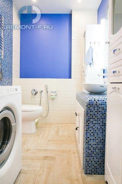 Фото интерьера ванной в двухкомнатной квартире