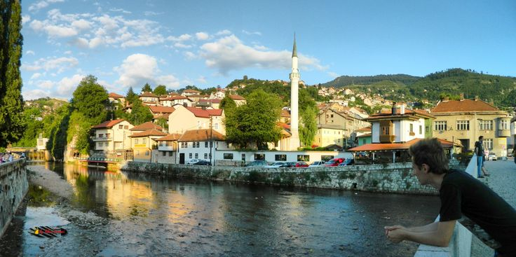 Bascarsija, Sarajevo, Bosnia and Herzegovina, Nikon Coolpix L310, 4.5mm, 1/500s, ISO 80, f/3.1, panorama mode: segment 2, HDR-Art photography, 201607101814