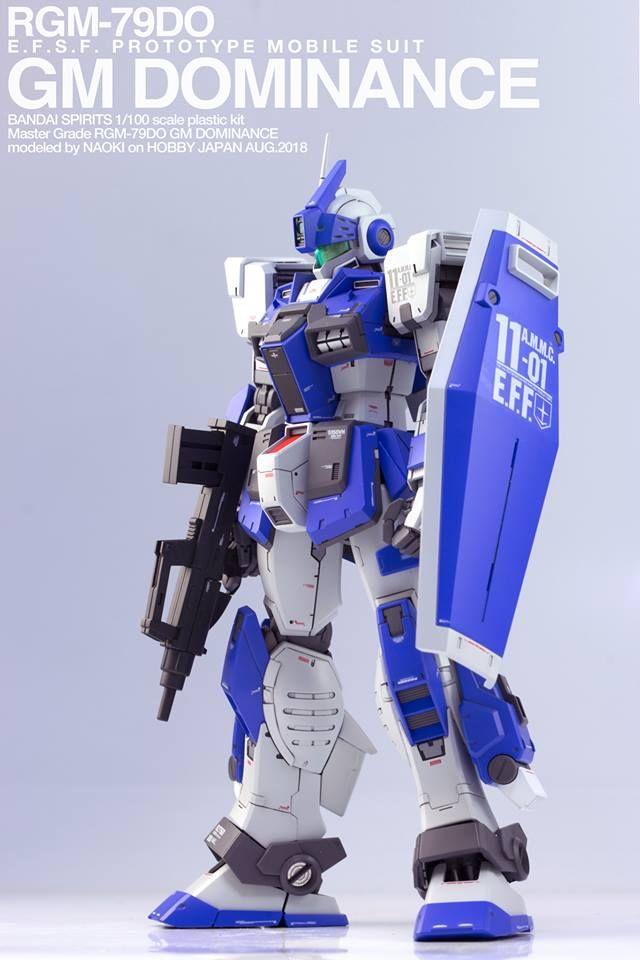 Custom Build: MG 1/100 GM Domi...