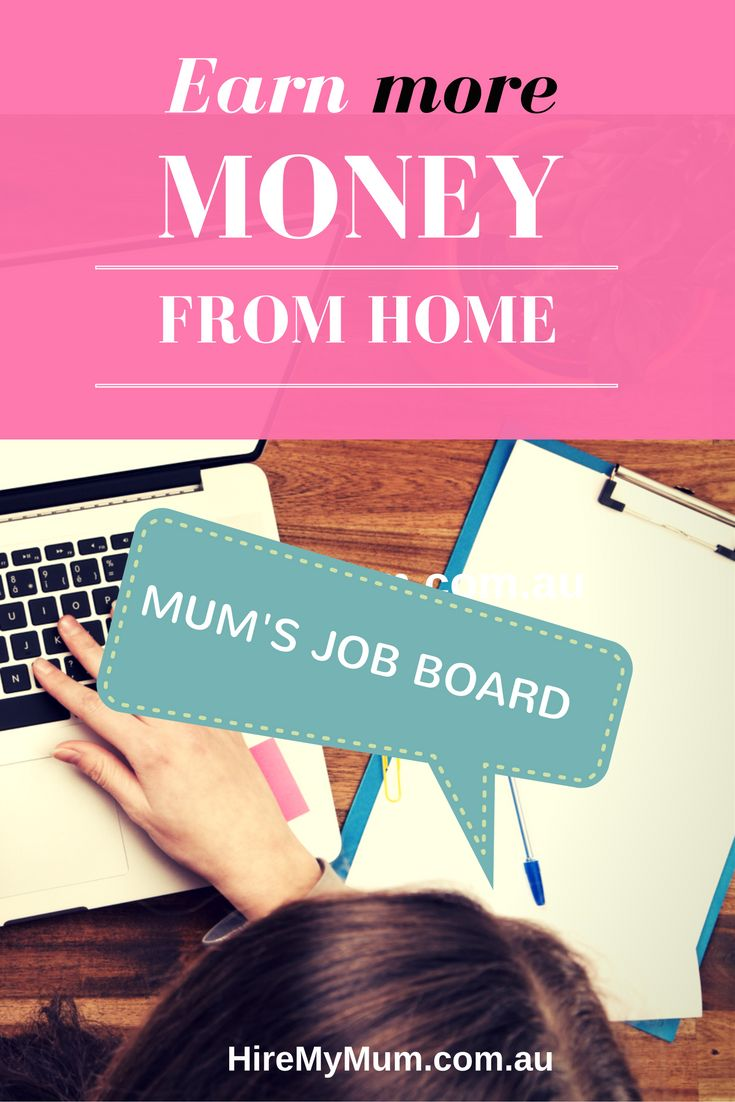 Are you a mum wanting to earn more money from home? Visit our Job Board and find a great hand selected choice of work from home and flexible jobs to fit your lifestyle