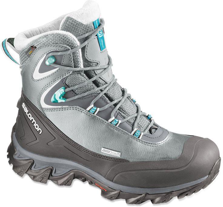 Salomon Female Anka Cs Waterproof Winter Boots - Women's