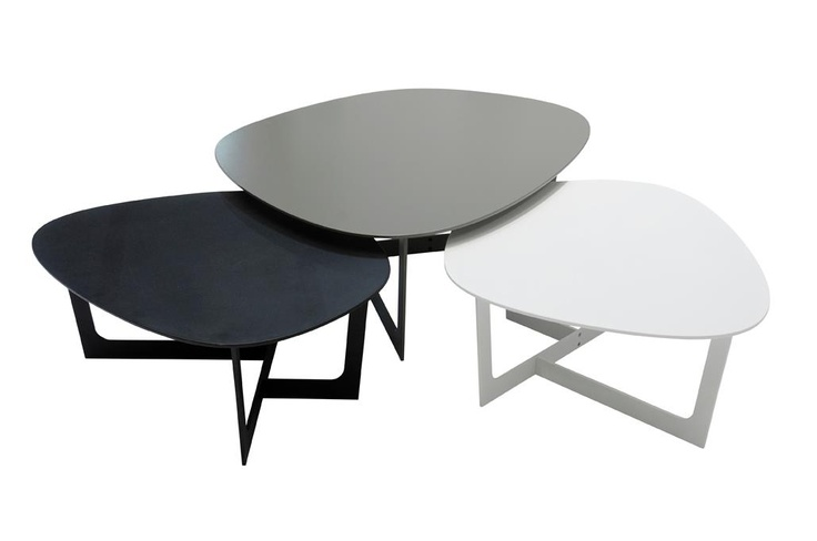 INSULA TABLES BY ERNST & JENSEN, COPENHAGEN. MANUFACTURER: ERIK JØRGENSEN, DK. PHOTOGRAPHER: THOMAS IBSEN.