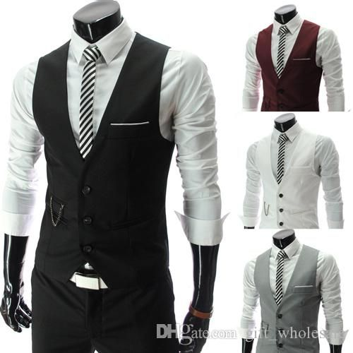 DHgate.com is an online wholesale seller, providing many kinds of  2014 korean fashion men's clothing clothes fashion men slim v-neck vest men's vest casual slim mens vest at cheap price, best quality and 7/24 online service.