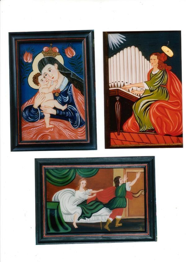 Hinterglasmalerei Hinterglasbilder Hinterglasbild: Kleinanzeigen aus Gilching - Rubrik Kunst, Gemälde, Plastik