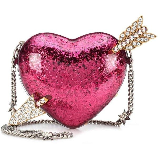 Gucci Crystal-Embellished Clutch ($3,255) ❤ liked on Polyvore featuring bags, handbags, clutches, pink, gucci purse, purple purse, gucci, purple handbags and gucci clutches