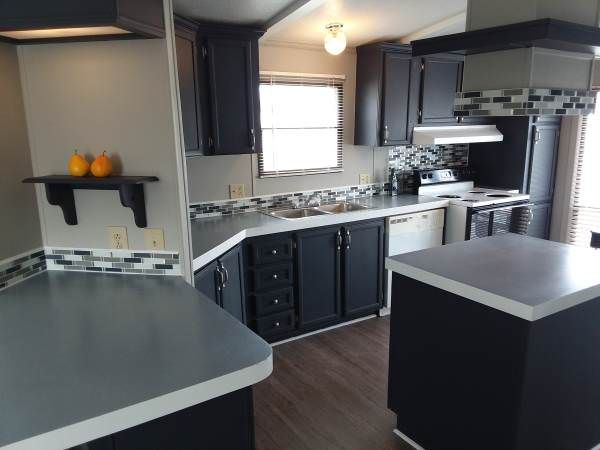 Our Best Mobile Home Finds For April 2018 Remodeling Mobile Homes Mobile Home Living Log Home Kitchens