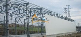 steel Hangars,steel sandwich panel insulated  hangars,hangar prices