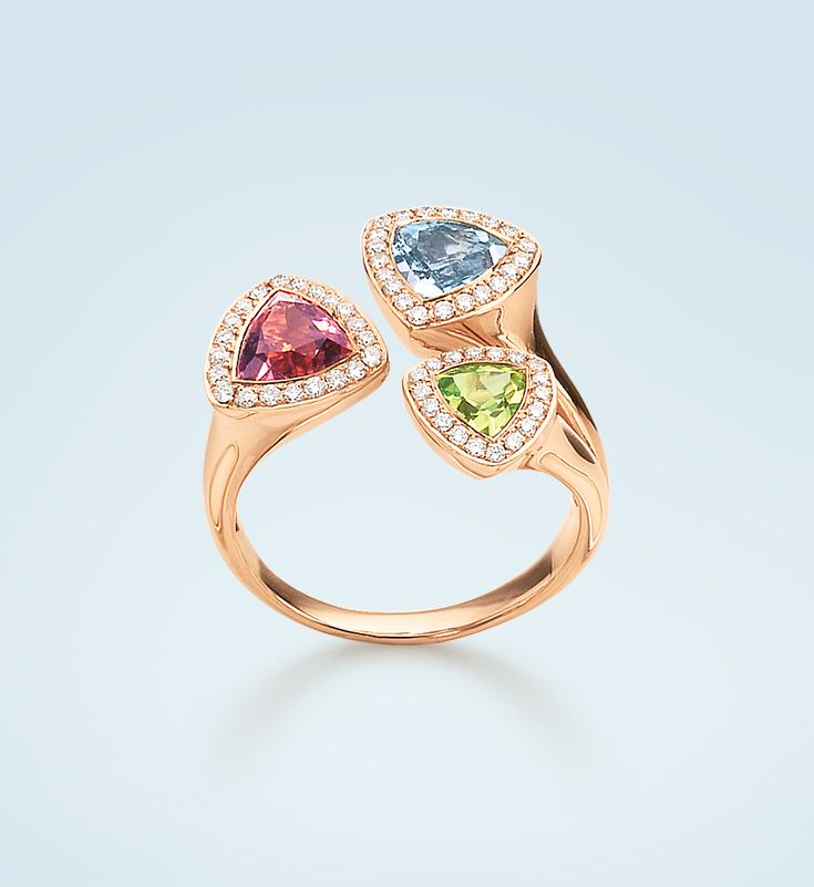 #Bucherer #ring with colorful #gemstones #TrendCollection #MyLittleLuxury
