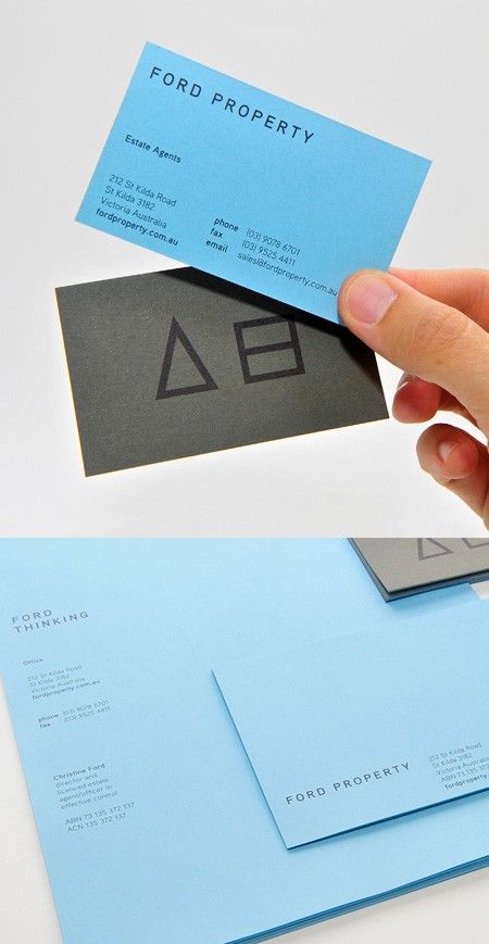 134 best design business cards images on pinterest visit cards business card gray with blue reheart Choice Image