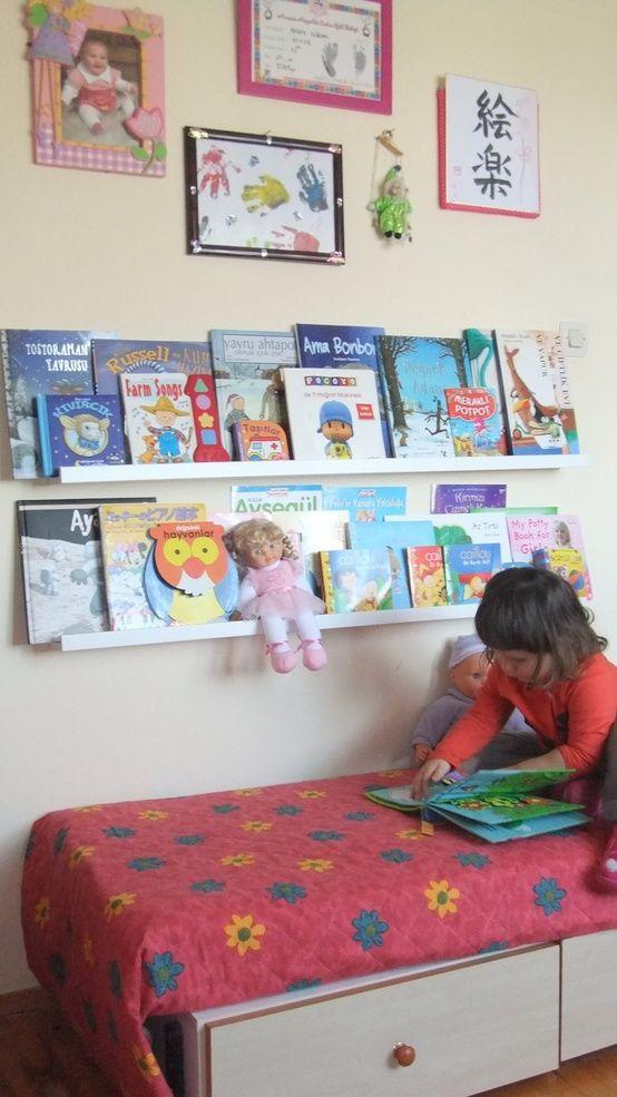 etagere-livres-chambre-enfant-ribba-ikea
